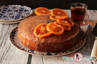 Kan Portakallı Kek / Blood Orange Cake