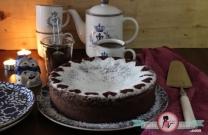 Torte Caprese / Unsuz Çikolatalı Bademli  Kek
