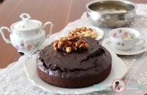 Çikolatalı Kuru yemişli kek